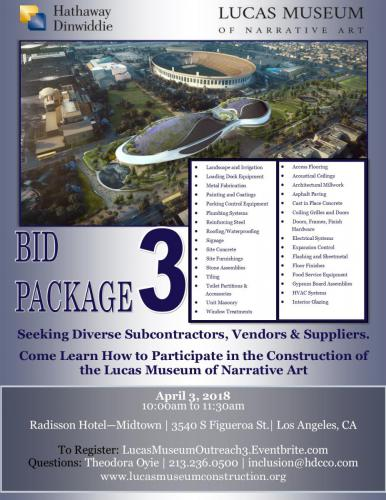 HDCCo - LMNA - Bid Package 3 Outreach Event Flyer